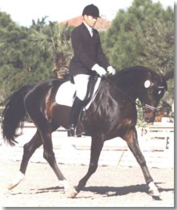 Amor Reto competing in Florida 1998