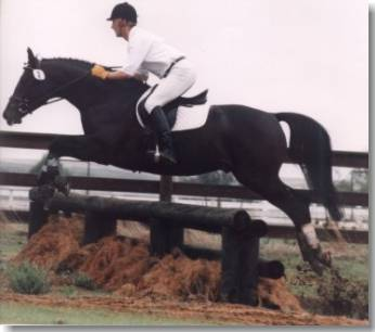 Amor Reto on the cross country course 1996